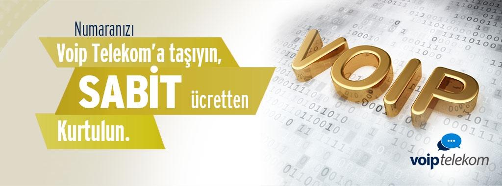 Numaranızı Voip Telekom'a taşıyın, Sabit Ücretten Kurtulun
